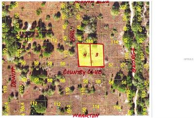 Punta Gorda Residential Lots & Land For Sale: 28118 & 28124 Country Club Boulevard