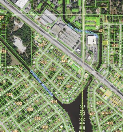 Port Charlotte Residential Lots & Land For Sale: 2071 Ellery Street