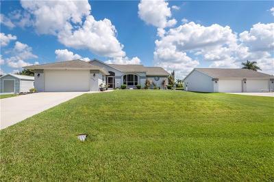 Punta Gorda FL Single Family Home For Sale: $359,900