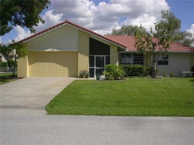 Punta Gorda Single Family Home For Sale: 3874 Bordeaux Drive