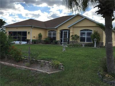 North Port Single Family Home For Sale: 1605 Florala Street