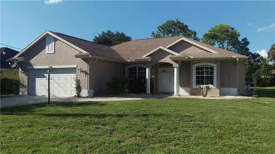 North Port Single Family Home For Sale: 1268 W Hillsborough Boulevard