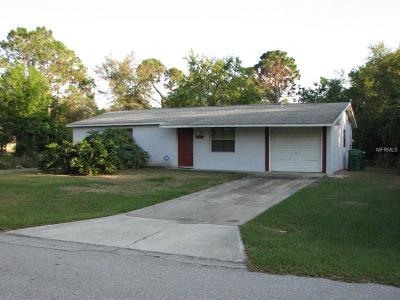 Port Charlotte Single Family Home For Sale: 23377 Gemstone Avenue