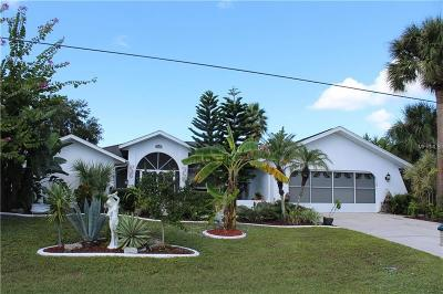 Port Charlotte Single Family Home For Sale: 4443 Larkspur Court