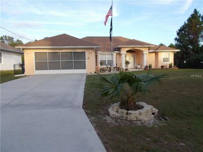 North Port Single Family Home For Sale: 1618 Amnesty Drive