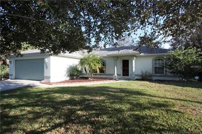 North Port FL Single Family Home For Sale: $209,000
