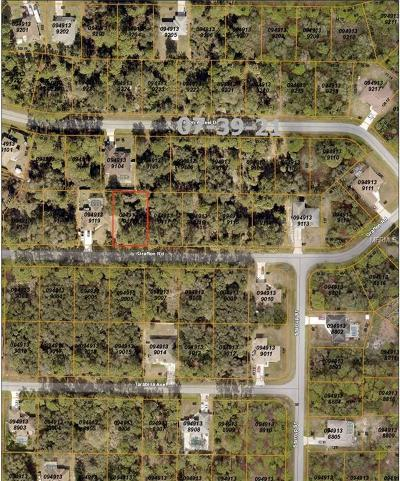 Charlotte County, Collier County, Desoto County, Glades County, Hendry County, Lee County, Sarasota County Residential Lots & Land For Sale: Grafton Road