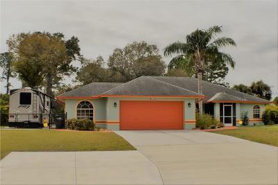 North Port Single Family Home For Sale: 4573 Mulgrave Avenue