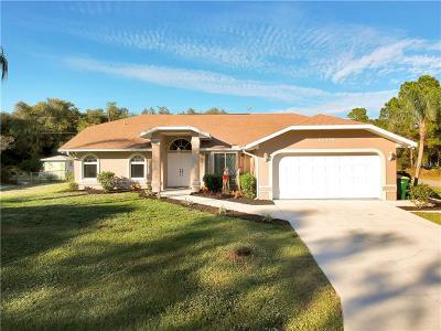 Port Charlotte Single Family Home For Sale: 20438 Elrose Avenue