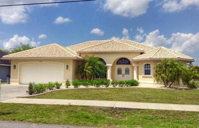 North Port Single Family Home For Sale: 6101 Bolander Terrace