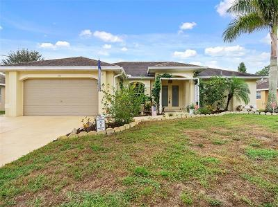 North Port Single Family Home For Sale: 1196 Banter Circle
