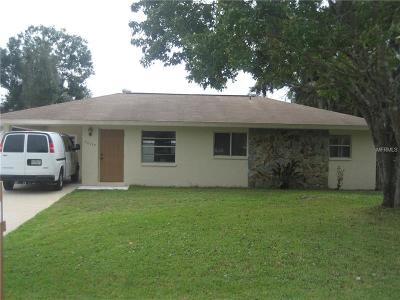 Port Charlotte Single Family Home For Sale: 20199 Gladstone Avenue