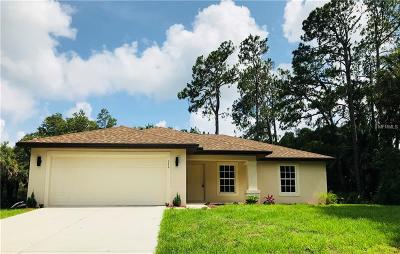 Charlotte County Single Family Home For Sale: 15419 Demas Avenue