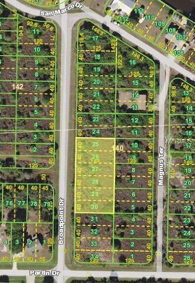 Punta Gorda Residential Lots & Land For Sale: 1994 Broadpoint Drive