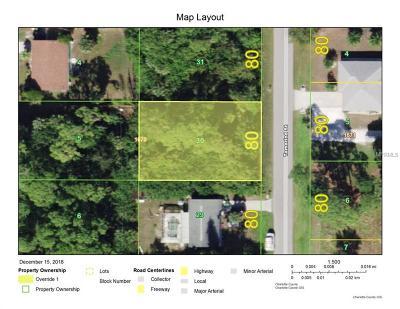 Port Charlotte Residential Lots & Land For Sale: 2435 Tamarind Street
