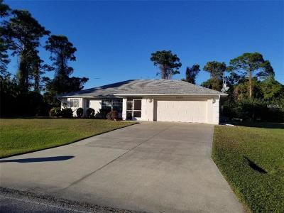 Port Charlotte Single Family Home For Sale: 6123 David Boulevard