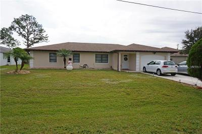 Punta Gorda Single Family Home For Sale: 25373 Palisade Road