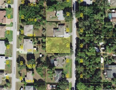 Port Charlotte Residential Lots & Land For Sale: 1333 Yates Street