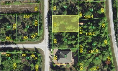 Port Charlotte Residential Lots & Land For Sale: 8056 Alanson Drive