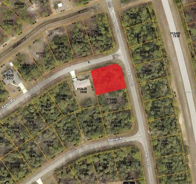 North Port Residential Lots & Land For Sale: Bannock Circle