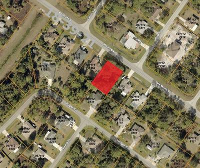 North Port Residential Lots & Land For Sale: Meroni Boulevard