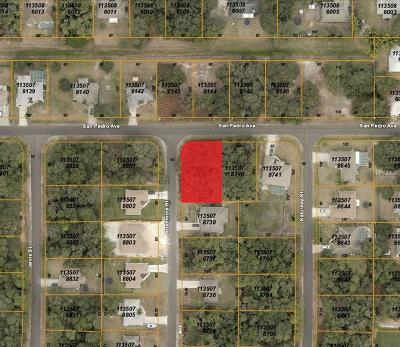 North Port Residential Lots & Land For Sale: San Pedro Avenue