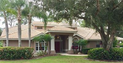 Sarasota Single Family Home For Sale: 8400 Woodbriar Drive