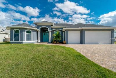 Port Charlotte Single Family Home For Sale: 10568 Ayear Road