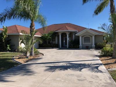 Rotonda, Rotonda West, Rotonda Lakes Single Family Home For Sale: 901 Boundary Boulevard