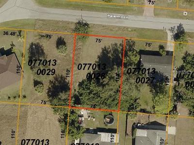 Residential Lots & Land For Sale: Palermo Lane
