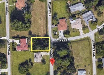 Residential Lots & Land For Sale: San Juan Drive