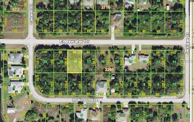 Port Charlotte Residential Lots & Land For Sale: 17313 Edgewater Drive