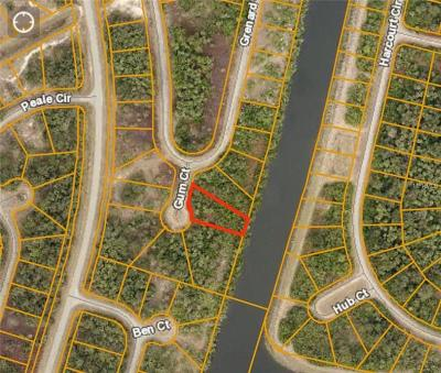 North Port FL Residential Lots & Land For Sale: $6,000