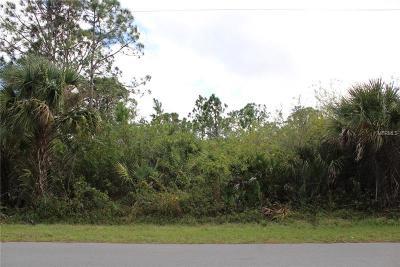 Port Charlotte Residential Lots & Land For Sale: 13437 Markham Avenue