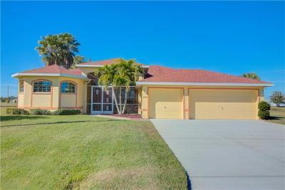 Punta Gorda FL Single Family Home For Sale: $374,999