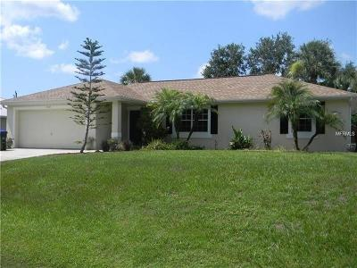 North Port Single Family Home For Sale: 2741 Yamada Lane