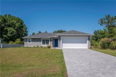 North Port Single Family Home For Sale: Lot 5 Zodiac Street