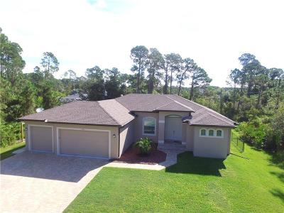 North Port Single Family Home For Sale: Lot 11 Chamrade Road