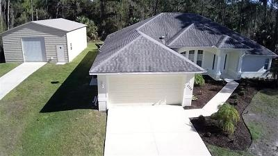 North Port Single Family Home For Sale: 5348 Nolting Terrace