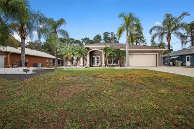 North Port Single Family Home For Sale: 3623 Malinda Terrace