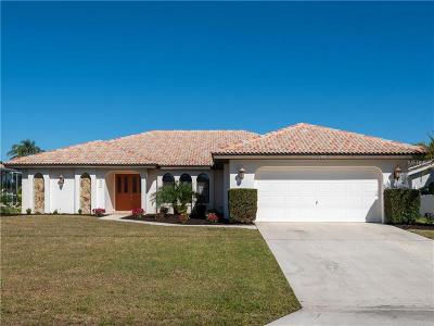Punta Gorda Single Family Home For Sale: 832 Via Formia