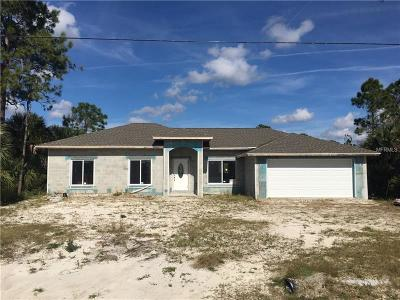 North Port Single Family Home For Sale: 1914 Amnesty Drive