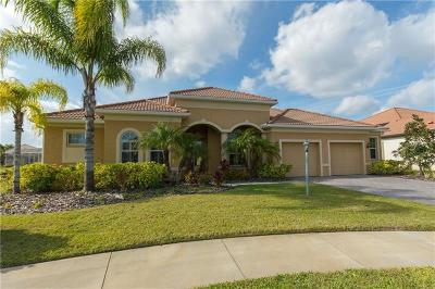 North Port Single Family Home For Sale: 3221 Lady Palm Way