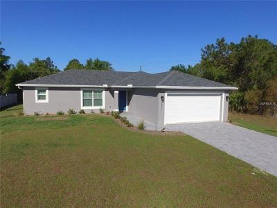 Port Charlotte Single Family Home For Sale: 17208 Greenan Avenue