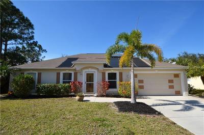 North Port Single Family Home For Sale: 2457 Cincinnati Street