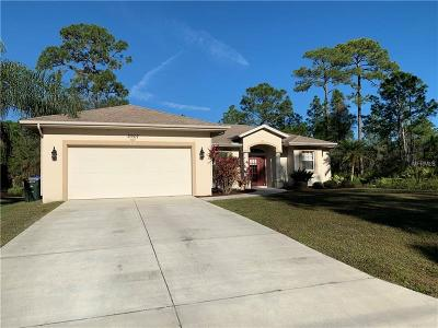 North Port Single Family Home For Sale: 2907 Mayflower Terrace