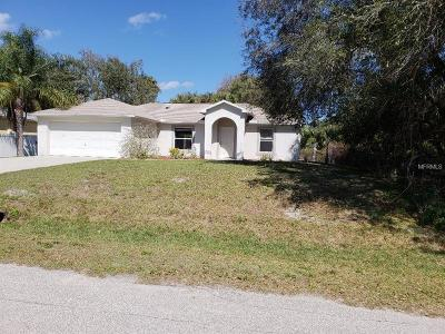 North Port Single Family Home For Sale: 2534 Morrietta Lane