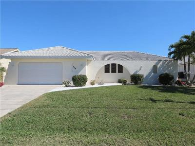 Punta Gorda Single Family Home For Sale: 830 Coronado Drive
