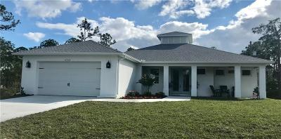 Punta Gorda Single Family Home For Sale: 27125 Pasadena Drive
