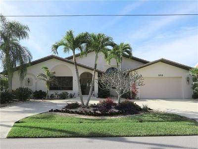 Punta Gorda Single Family Home For Sale: 555 Toulouse Drive